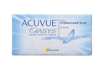 Acuvue OASYS with Hydraclear Plus (6 линз) радиус кривизны 8.8