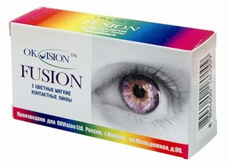 OK VISION Fusion Fancy 2 линзы
